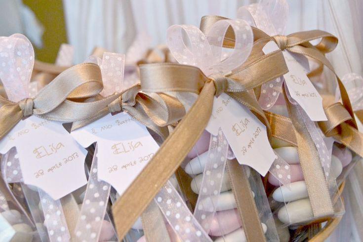 Bogomilla Hopp Kids: Battesimo: rosa, beige, bianco