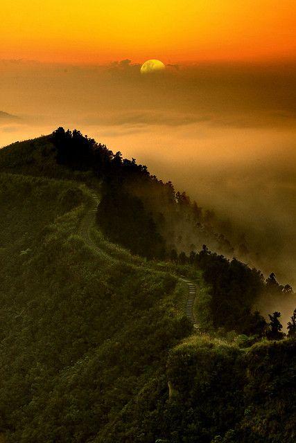 Sunset in Mountain, New Taipei City, Taiwan