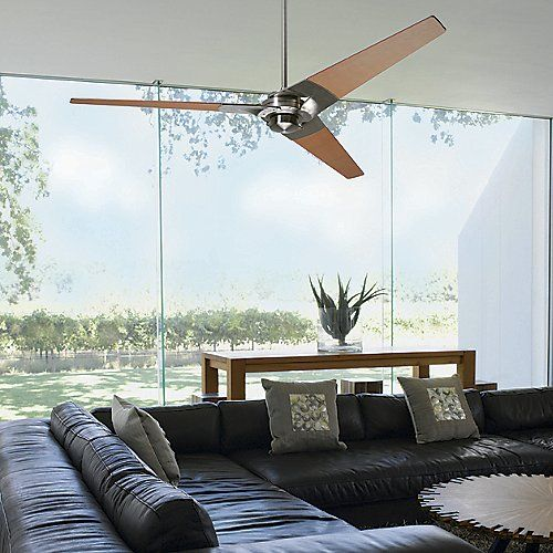 Crank It Up With The Modern Fan Company Torsion Ceiling Fan. Sporting A  Uniquely Light