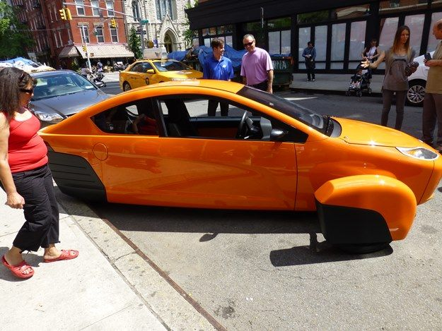 The Elio In Extroverted Creamsicle On Seventh Street In Manhattan There Will Be Seven