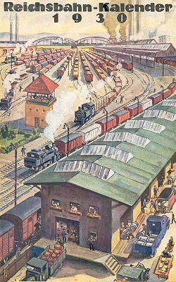 Reichsbahn-Kalender 1930