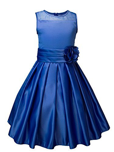 Spring Notion Big Girls Sheer Neckline Satin Tea Length Flower Girl Dress Royal Blue Size 2 Spring Notion http://www.amazon.com/dp/B00XTUWNDU/ref=cm_sw_r_pi_dp_F0-6vb19DMJ6N