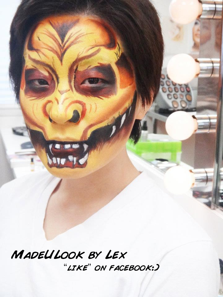 done in body paint by alexys fleming halloween facehalloween makeuplip - Where Can I Get Halloween Makeup Done