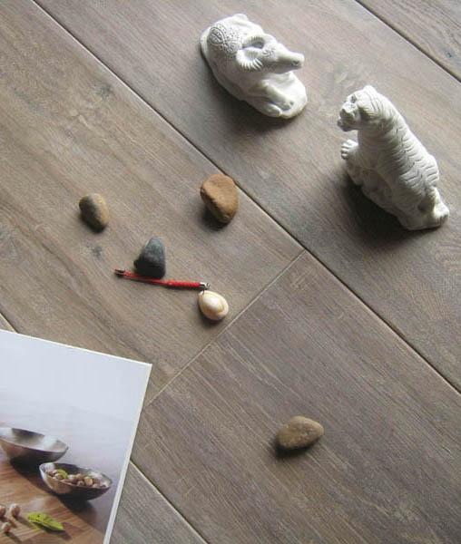 smoked white oak floor