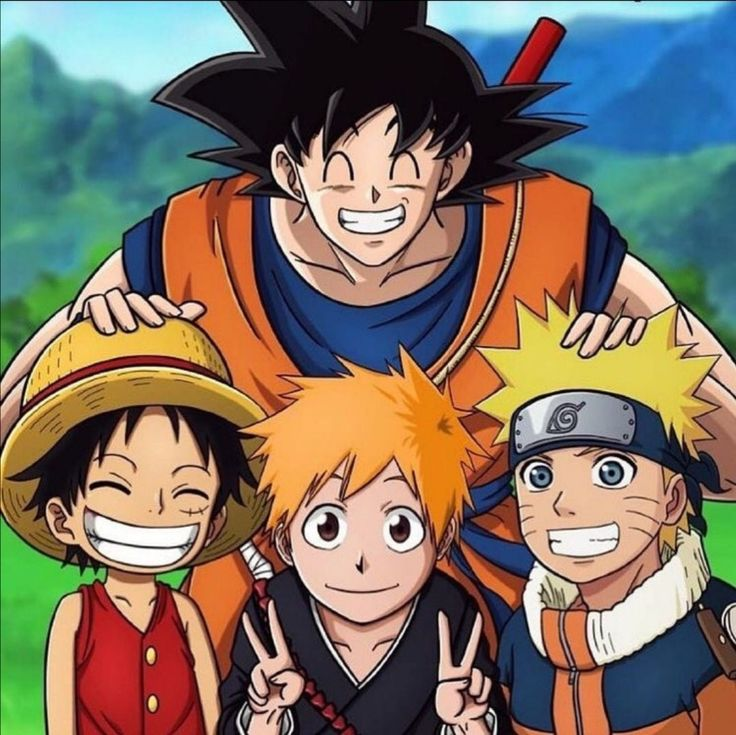 Gokusensei team 7 all anime characters anime