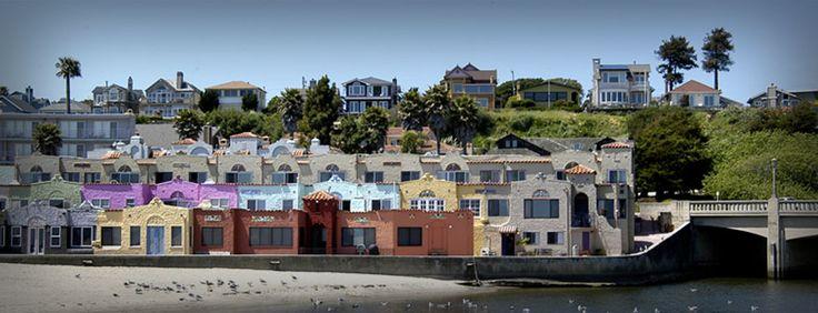 Capitola Village - oldest seaside resort town in California