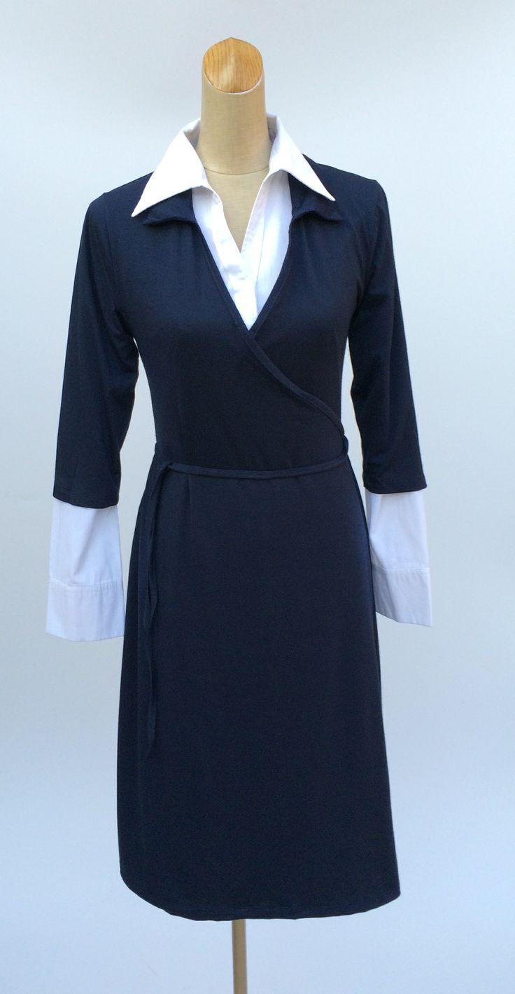 17 best images about iconic wrap dress on pinterest wrap for Crisp white dress shirt