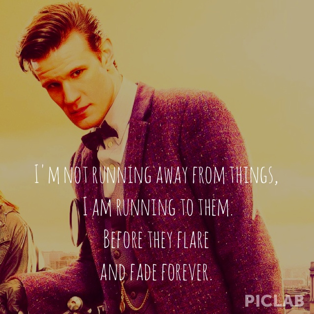 Doctor Who Quotes/Matt Smith as the Eleventh Doctor.