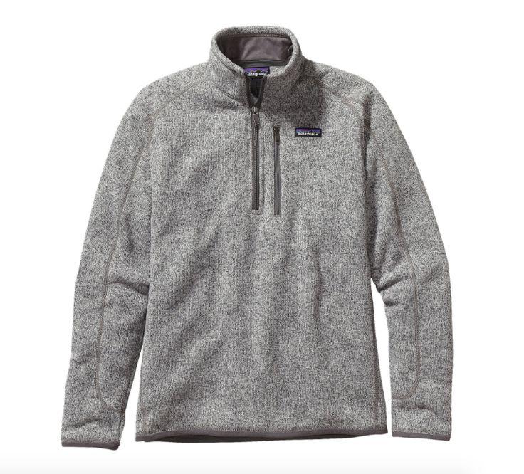 Patagonia Men's Better Sweater® 1/4-Zip Fleece - Stonewash