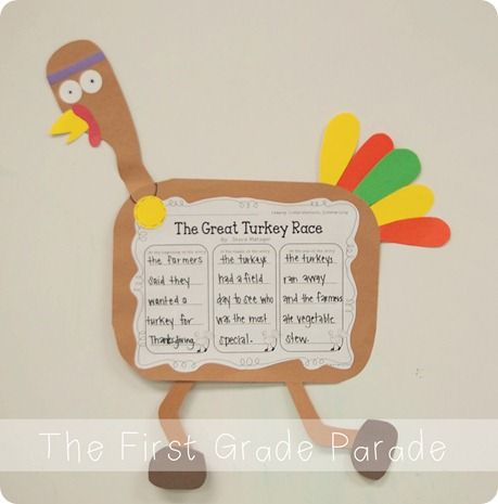 Thanksgiving art projects for elementary school craft for Turkey crafts for first grade