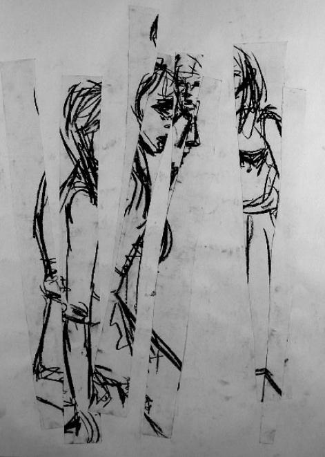 Morgan Bentham, Untitled Drawing, 2007.