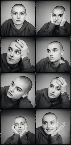 Sinead O'Connor by Andrew Catlin / 1988