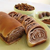 Povitica: traditional Polish sweet Christmas bread