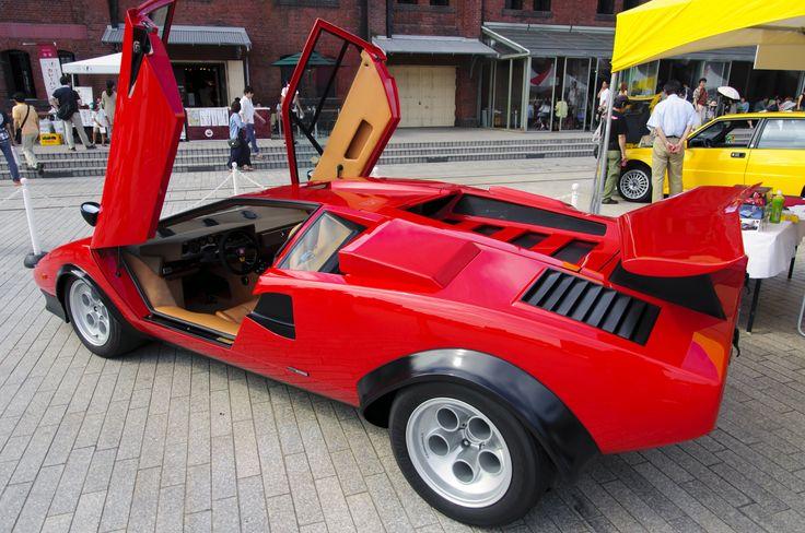 9. 1971 Lamborghini Countach