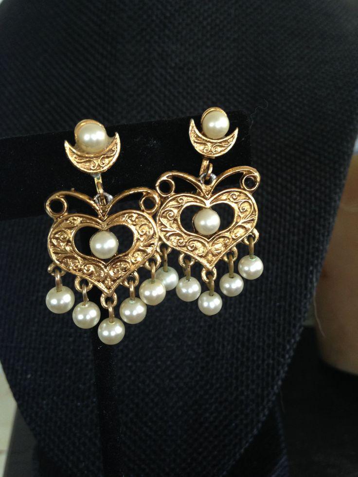 442 best vintage earrings images on Pinterest   Vintage earrings ...