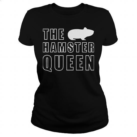 The Hamster Queen T-Shirt - #long #long hoodie. ORDER NOW =>…