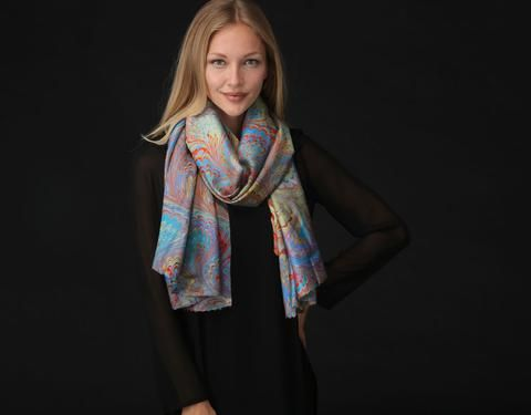 Modal Scarf - Think Love by VIDA VIDA