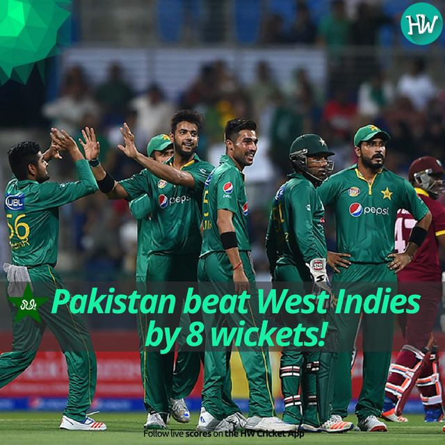 Pakistan sweep the series 3-0. A fantastic performance in all three T20s! #PAKvWI #PAK #WI #cricket