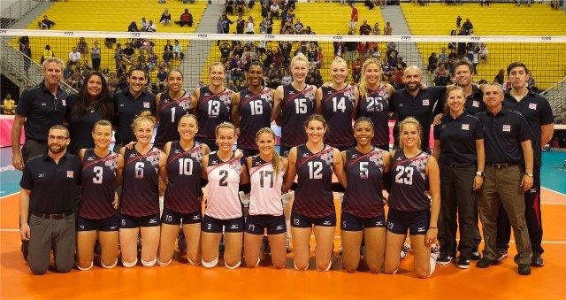 USA retain top position in World Ranking for Women's Beach #Volleyball