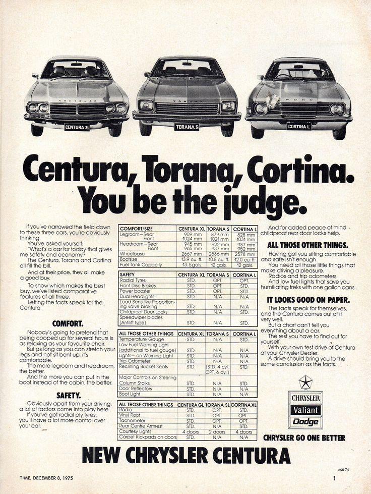 https://flic.kr/p/NyRrjx   1976 KB Chrysler Centura Aussie Original Magazine Advertisement