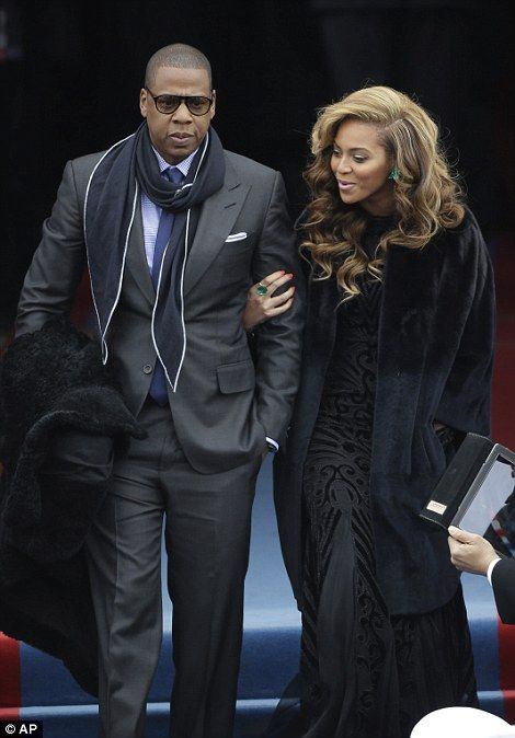 Jay-Z and Beyonce - Barack Obama Inaugration 2013 - Thank You..!!