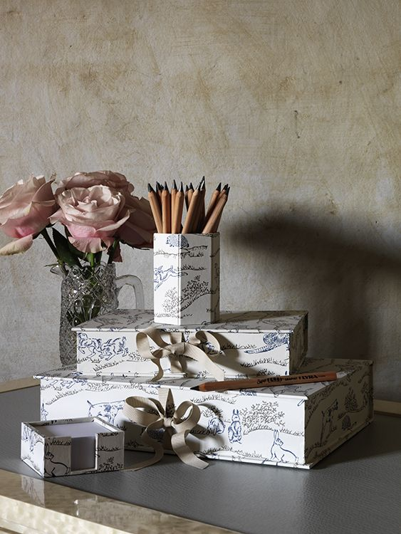 Nina Campbell Hedgerow Desk Accessories