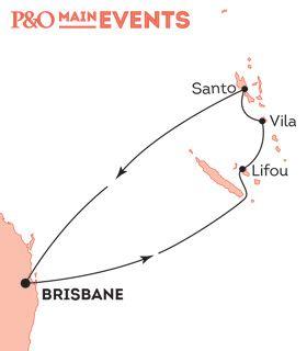 P&O Cruise Maps