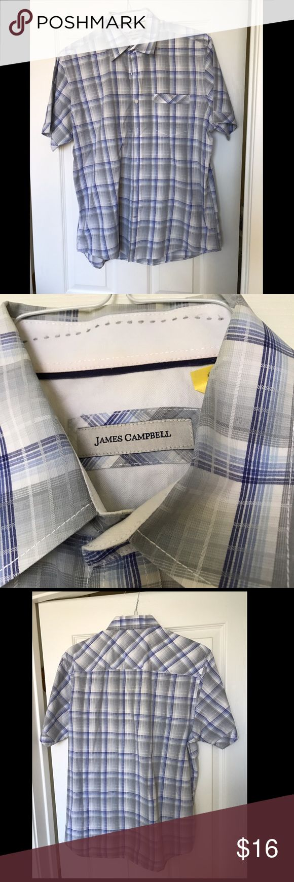 James Campbell Shirt Great condition. Just dry cleaned James Campbell Shirts Casual Button Down Shirts