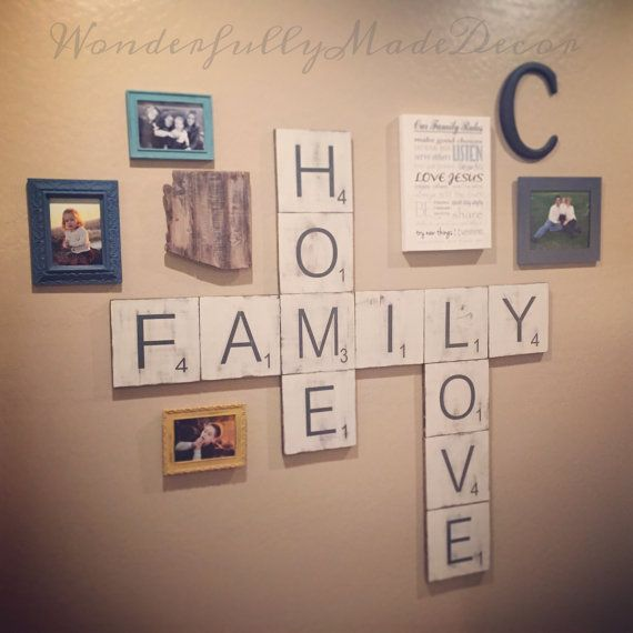 Best 20 Scrabble wall art ideas on Pinterest Scrabble wall
