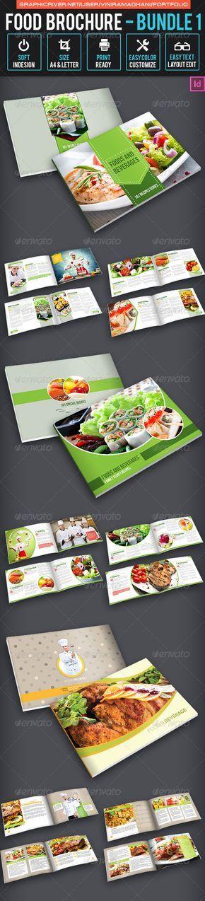 Best  Brochure Food Ideas On   Food Magazine Layout