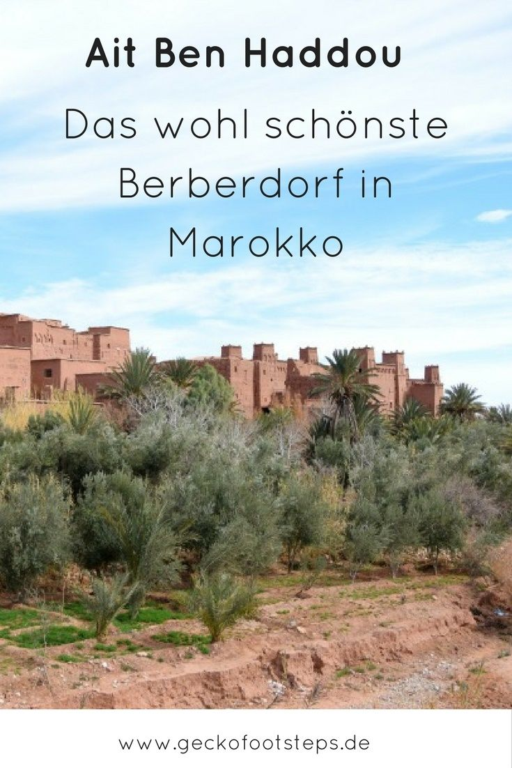 Ait Ben Haddou ist ein traditionelles Berberdorf in Marokko, das durch seine schöne Bauweise Touristen und Hollywood gleichermaßen anzieht.
