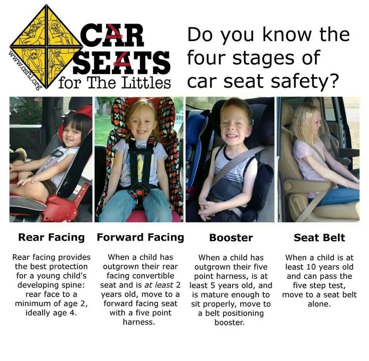 car seats for the littles 4 stages of car seat safety
