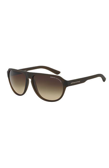 Men S Aviator Sunglasses Sunglasses Mens Accessories Armani