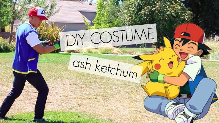 DIY COSTUME | Ash Ketchum Pokemon
