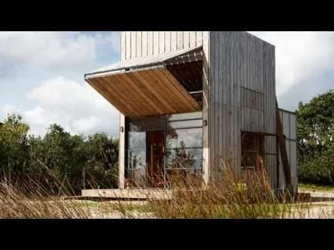 Современный необычный маленький дом в Новой Зеландии. Дизайн интерьера Дома. - YouTube