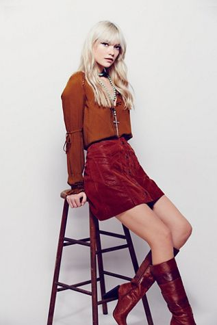 Free People Come A Little Closer Mini at Free People Clothing Boutique