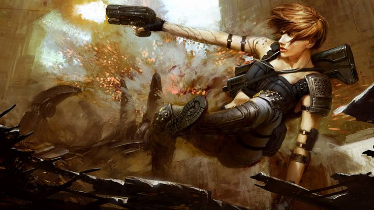 woman warrior post apocalyptic | Pin Elf Fairy Gnome ...