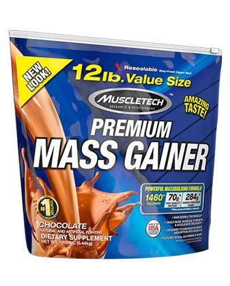 Muscletech 100% Premium Mass Gainer Straw 5440 g
