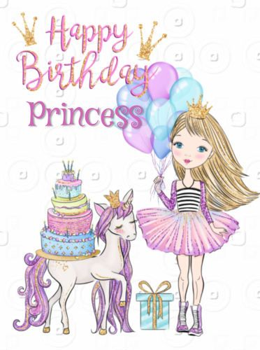 Cute Toddlers Playing Cartoon Wallpaper Happy Birthday Little Girl Princess Hb Daughter