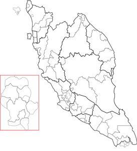 PublicDomainVectors.org-Blank map of Peninsular Malaysia
