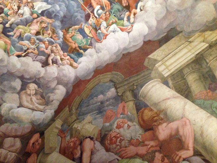 Sala dei Giganti inside the Palazzo del Te by Giulio Romano