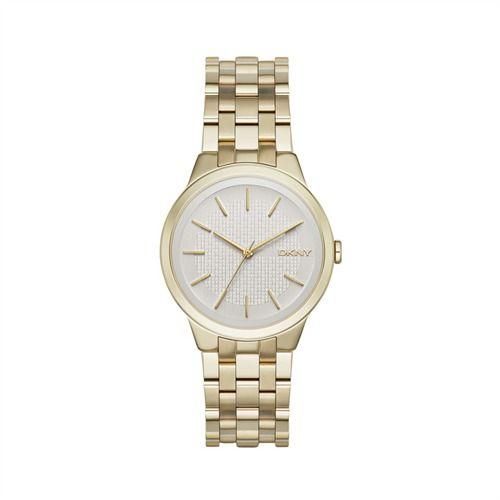 Goldfarbene Armbanduhr für Damen von DKNY NY2382 https://www.thejewellershop.com/ #dkny #uhren #uhr #gold #watch #fashion #jewelry #schmuck