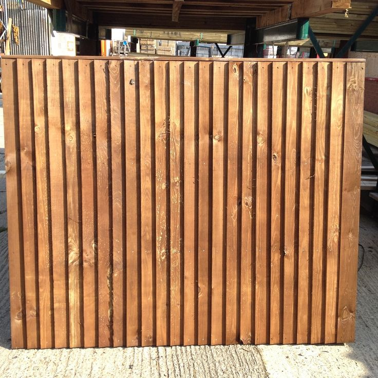 4'x6' Closeboard Fence Panel - Rhino Building Supplies