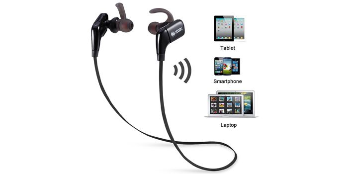 Buy Zoook Rocker Soulmate Wireless BT Splashproof Stereo Earphones with Mic (Black) Online at Best Price in India - Snapdeal