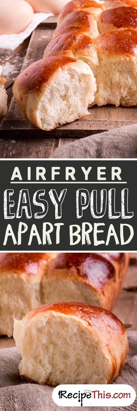 Airfryer Easy Pull Apart Bread