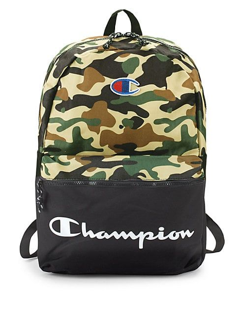 CHAMPION FOREVER CHAMP THE MANUSCRIPT BACKPACK.  champion  bags  polyester   backpacks  cotton 695242042c3fb