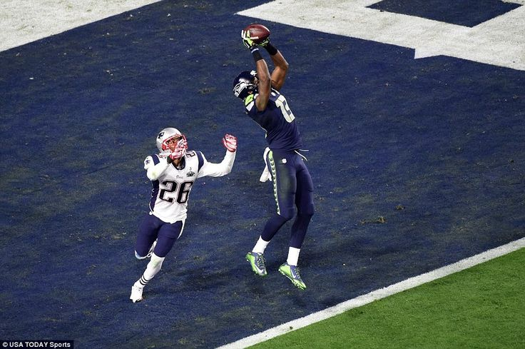 "Earlier today we might have received a few longing faces after Russell Wilson threw a touchdown to Chris Mathews, which  put the Seahawks on lead and lastly to the tie up of the first half score in Super Bowl XLIX  ""Mathew's is the fourth receiver and Loga"