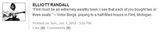 Great joke by Victor Borge, via Elliott Randall's post on Numubu.  :D