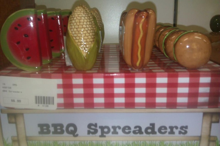 BBQ Spreaders 6.99 each Call 843-236-5230 if interested
