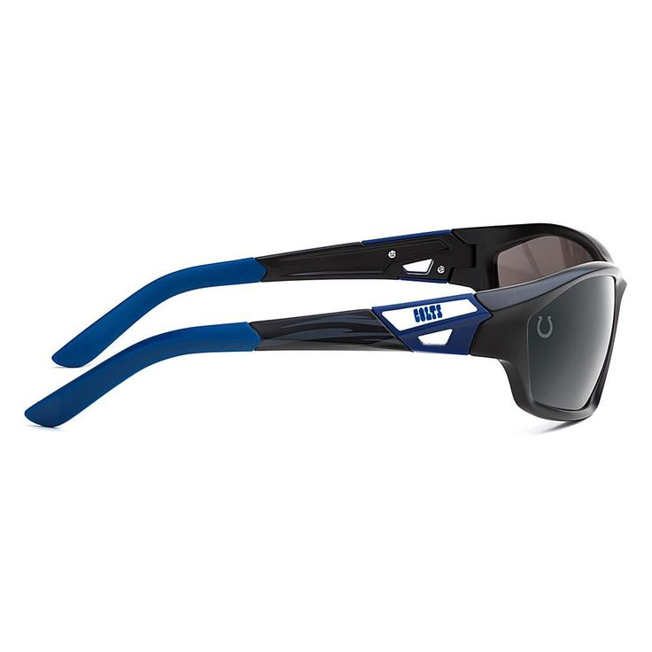 "Officially Licensed NFL ""Lateral"" Sunglasses with 360-Degree Bendable Arm Technology by Eye Ojo - Colts"